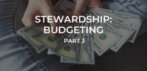 Stewardship Budgeting 4